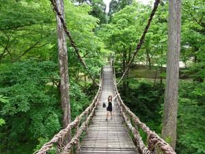 池田町にあるかづら橋