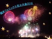 福井フェニックス花火大会2016